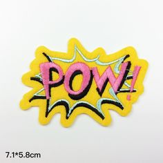 Special style patch funny patches POW embroidered patch patches iron on patch sew on patch A1