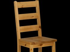 Rough Sawn Ladderback Side Chair | Munros Furniture