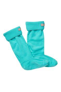Garter Stitch Cuff Boot Sock