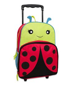 Look what I found on #zulily! Ladybug Rolling Backpack by Zulily #zulilyfinds