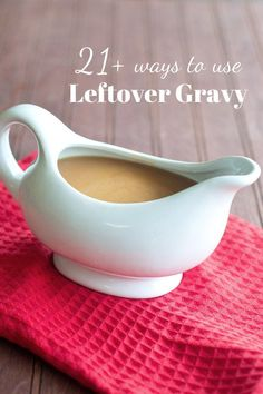 Have you got some gravy leftover? Don't throw it out? Here are a whole bunch of ways to use it. You're totally going to find something for dinner tonight! #busyweeknights #easymeals Mexican Chalupas Recipe, Thanksgiving Dinner Plates, Thanksgiving 2020, Thanksgiving Recipes, Beef Recipes, Cooking Recipes, Cooking Tips, Food Tips, Healthy Cooking
