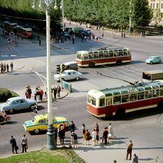 Ломоносовский проспект. Яков Берлинер, РИА Новости, 1970 год