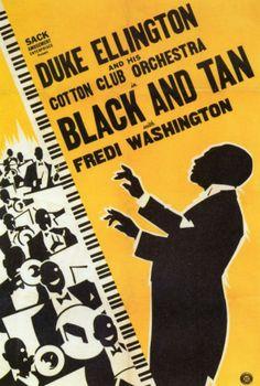 Duke Ellington, Black and Tan 1929 (poster)