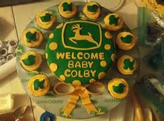 john deere baby shower cakes and ideas - Bing Images
