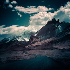 Edge Of The World [OC] - [2048x758]