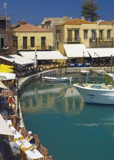 Old Port of Rethymnon, Crete Island / Photographic Print by Sakis Papadopoulos at eu.art.com