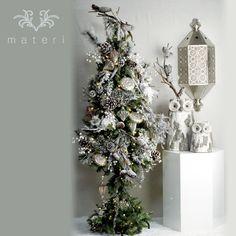 """christmas tree set """"white night"""""""