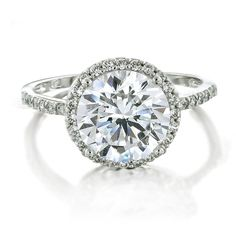 Vintage Engagement Rings | vintage-style-cz-diamond-brilliant-engagement-ring : Rings | We Heart ...