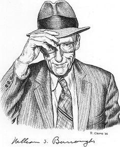 William S. Burroughs by Robert Crumb