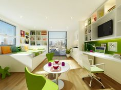 Student Accommodation - London Studio Bailey This would be the coolest!