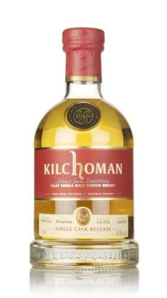 A single cask bottling of 5 year old single malt from Kilchoman, bottled for the Drinks by the Dram folks (you may have even found a dram of this whisky in one of their Advent Calendars! Malt Whisky, Scotch Whiskey, 5 Year Olds, Bourbon, Liquor, Alcohol, Advent Calendars, Drinks, Bottle