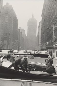 Park Avenue, New York, 1959 Photograph: The Estate of Garry Winogrand, courtesy Fraenkel Gallery, San Francisco