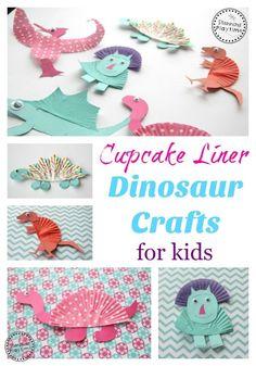 Cupcake Liner Dinosa