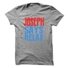 JOSEPH Says ᑎ‰ relax T-shirtJOSEPH Says relax T-shirtJOSEPH Says relax T-shirt,JOSEPH,JOSEPH Says relax,JOSEPH Says relax tshirt,relax