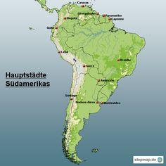 Südamerika Hauptstädte | Südamerika Reiseführer