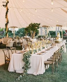 this is our idea of an at home wedding wedding decor wedding tent wedding wedding decorations Perfect Wedding, Dream Wedding, Chic Wedding, Wedding Ceremony, Fall Wedding, Elegant Wedding, Wedding Details, Wedding Seating, Wedding Rustic