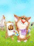 Мобильный LiveInternet Очаровательные котейки. Анимация с кодами | Оленька_Коваленко - Дневник Оленька_Коваленко |