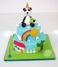 Resultado de imagem para bolo panda e os caricas