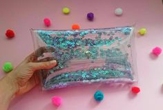 Check out this item in my Etsy shop https://www.etsy.com/listing/268451498/sequins-clutch-sparkle-clear-purse