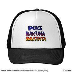 Peace Hakuna Matata #Gifts Products