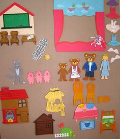 Diy Felt Board New 25 Best Kids Felt Board Ideas Images On. Informations About Diy Felt Board New Flannel Board Stories, Felt Board Stories, Felt Stories, Flannel Boards, Felt Diy, Felt Crafts, Felt Books, Quiet Books, Diy Bebe