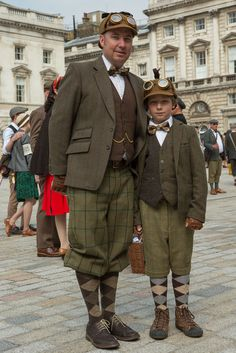 The Tweed Run - London 2014 - Neil Cordell Photography
