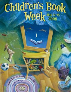 Official Children's Book Week poster, 2008, Mary GrandPre (1954 - )