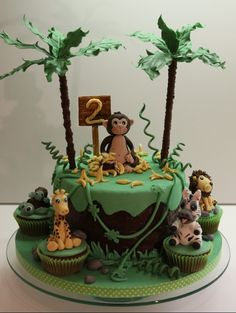 Dschungel Safari Jungel Cake Jungle