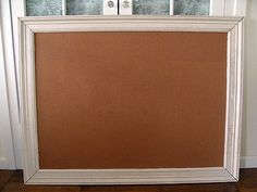 How to Make a Framed Bulletin Board …