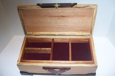 Hand made Jewlery Box by morethanpens on Etsy, $85.00