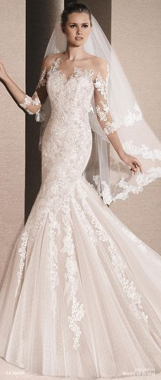 7be42eed25 La Sposa 2016 mermaid wedding dress La Sposa Wedding Dresses
