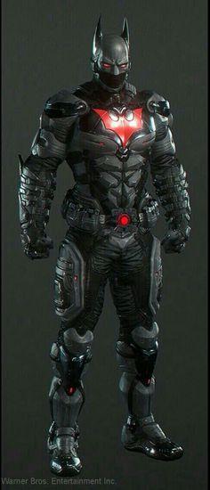 Batman Beyond - Full Armor - Concept Batman Suit, Im Batman, Spiderman, Batman Beyond Suit, Gotham Batman, Batman Robin, Batman Arkham Knight Suit, Batman Arkham Knight Characters, Batman Armor