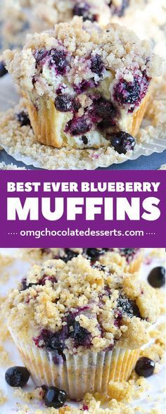My favorite breakfast idea ?! Blueberry muffins recipes is amazing breakfast recipe to start your day.