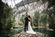 An exceptional intimate wedding in the dramatic setting of Blausee. An elopement for an Australian couple and their symbolic ceremony in Switzerland. Wedding Ceremony, Wedding Venues, Cute Wedding Ideas, Fantasy Wedding, Couple Shoot, Wedding Locations, Wedding Planning, Romantic