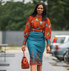 Collection of the most accepted and yet stylish ankara styles to rock to your office, these ankara styles are perfect for every type of office situation Latest African Fashion Dresses, African Inspired Fashion, African Men Fashion, African Print Dresses, Tribal Fashion, African Women, African Dress, Womens Fashion, African Prints