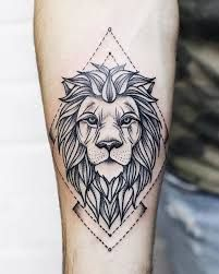 Resultado de imagen para löwe tattoo unterarm