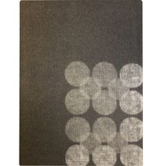 flicker rug in neutral dots, peace industry