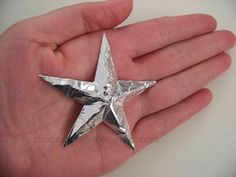 make your own stars out of a disposable pan and spray paint any color.  Easy to do.