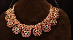 Grand Gold Antique Kemp Necklace