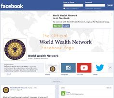 Connect with the World Wealth Network on Facebook!  #facebook  #wwn #worldwealthnetwork #business #networking #organization #education #life #learning #motivation #inspiration #club #community