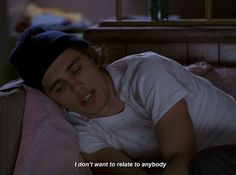 james franco quotes and freaks and geeks image Motivacional Quotes, Film Quotes, Mood Quotes, James Franco, James 4, Mark Hamill, Jason Segel, Freaks And Geeks, Shadow Of The Colossus