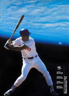 Addison Original Poster: Barcelona Olympics 92 (baseball player)