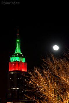 Empire State Building Illumination, NYC