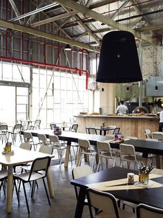 Industrial interiors make great commercial spaces