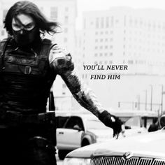 He's a ghost.  (The Winter Soldier)