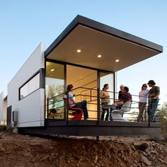 Best green home: The Wright way - Modern Cabin Design & More Award-Winning Homes  - Sunset