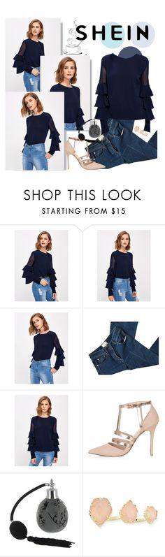 """shein"" by angelica-1996 ❤ liked on Polyvore featuring 3.1 Phillip Lim, Topshop and Kendra Scott"