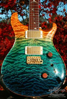 The Fellowship of Acoustics B.V., for Fine, Vintage and Rare guitars - Sold instruments Section :: PRS-SOLD :: PRS Paul Reed Smith Private stock tribute, unique 24 custom East Coast Tribute, #3224, OHC, COA, New