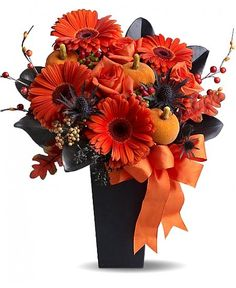 halloween floral arrangements halloween flowers