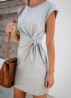 Solid Women Holiday Daily Fashion Mini Dresses - Solid Women Holiday Daily Fashion Minii Dresses – Dressisi Source by myhouseinvancouvet - Daily Fashion, Fashion Online, Mini Robes, Short Sleeve Dresses, Dresses With Sleeves, Short Sleeves, Long Sleeve, Casual Maternity, Maternity Dress